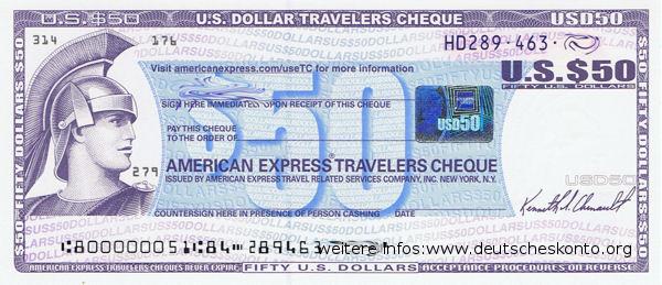 chèque voyage