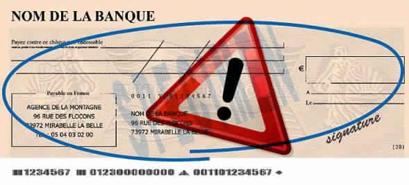 Comment Verifier Un Cheque De Banque
