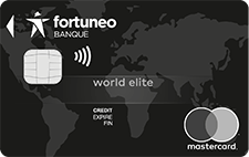 World Elite CB MasterCard Fortuneo