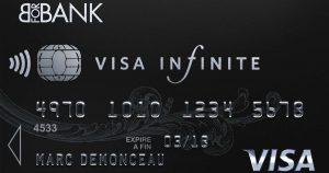 Comparatif des meilleures banques pour la visa infinite ?