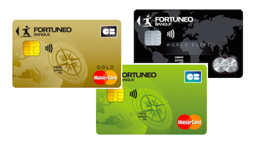 carte gold mastercard fortuneo