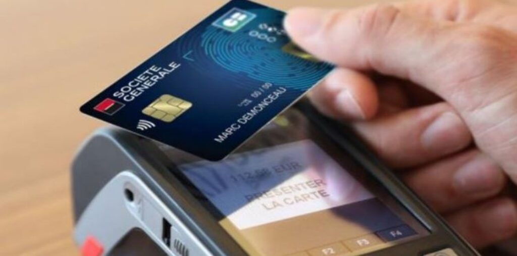 Carte biométrique Société Générale