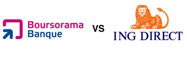 comparatif entre Boursorama et ING Direct