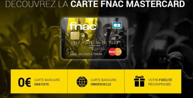 carte bancaire fnac mastercard