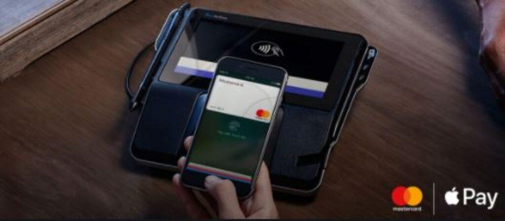 Paiement par Apple Pay avec compte Mastercard