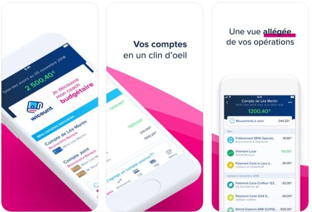 Application Boursorama Banque