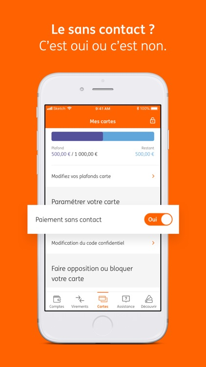 ING application mobile