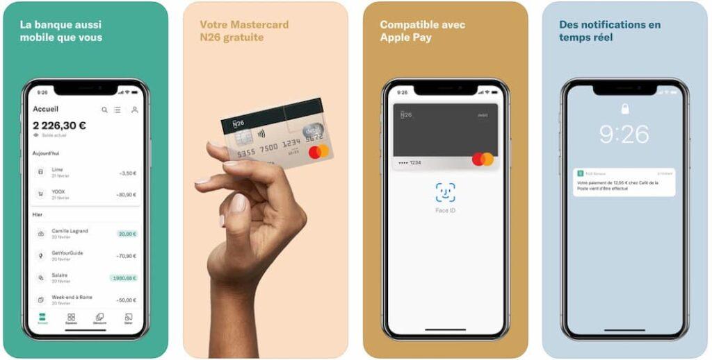 avis n26 application mobile