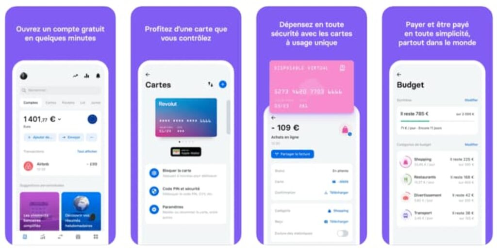 application mobile revolut avis