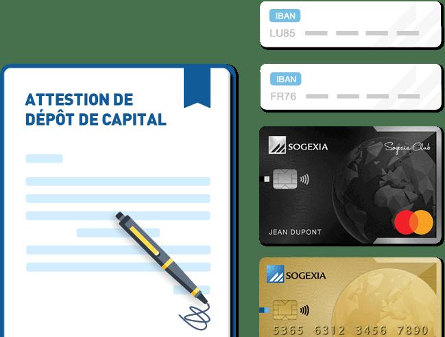 dépôt de capital sogexia