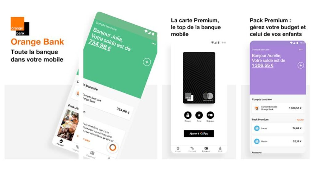 orange bank app